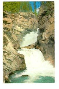 Canadian Rockies, Sunwapta Falls, Alberta,