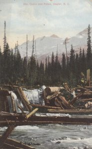 Mts Castor & Pollux , GLACIER , B.C. , Canada , 00-10s