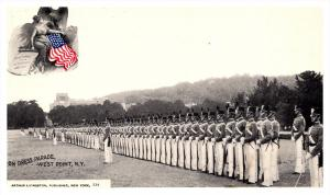 9191  NY  West Point  Military Academy  on Dress Parade   PMC