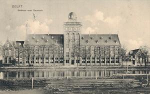 Netherlands Delft Gebouw voor Geodesie 01.74