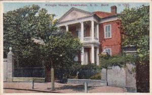 South Carolina Charleston Pringle House Built