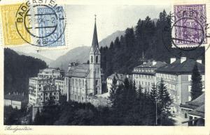 austria, BADGASTEIN, Preimskirche (1924) Stamps