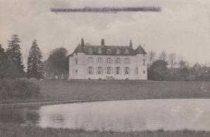Le Chateau De Nielles D'Ardres Old French Postcard