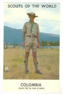 Boy Scouts Of The World, Colombia, 1968