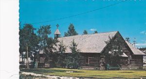 Exterior,  The Old Log Church,  Whitehorse,  Yukon,    Canada,   40-60s