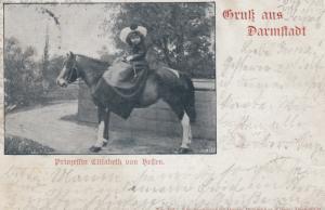 Gruss aus DARMSTADT , Germany , 1901 ; Princess Elizabeth von Hellen