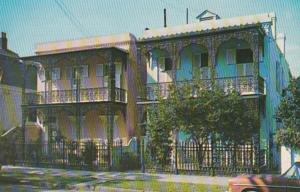 Louisiana New Orleans Vieux Carre Antebellum Homes