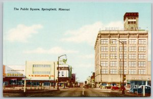 Springfield MO~Heer's Department Store~Woolworth's, Newberry's~Nat'l Shirt Shop