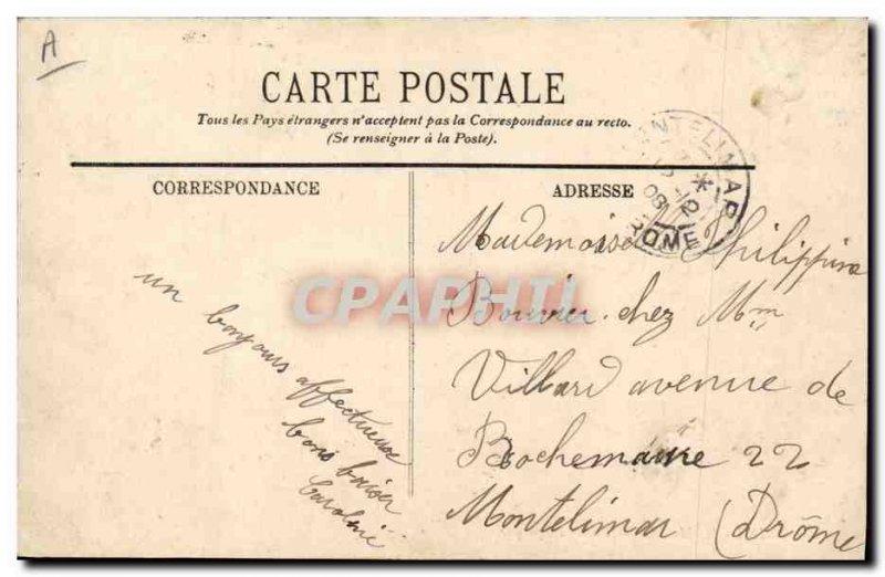 Old Postcard Bank Caisse d & # 39Epargne Saint Chamond