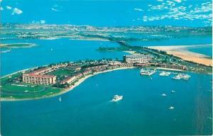Air View of The Bahia Mission Bay Park San Diego California
