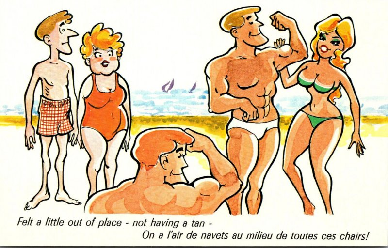 Humour Holiday Time Felt A Little Out Of Place Not Having A Tan