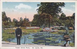 Tower Grove Park - St Louis MO, Missouri - pm 1916 - WB