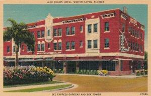 WINTER HAVEN , Florida , 1930-40s ; Lake Region Hotel