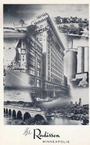 MINNEAPOLIS, Minnesota, 1940-60s; Hotel Radisson