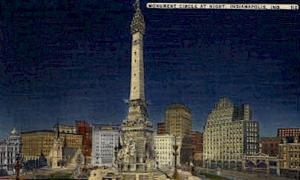 Monument Circle Indianapolis IN unused