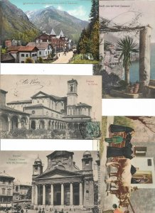 Italy Schluderbach Ferrara Genoa and more Postcard Lot of 14 01.13