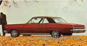 Camden, NJ, USA Postcard Post Card 1967 Mercury Comet 202 2 Door Sedan
