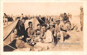 Military Camp Military Real Photo Soldier Unused
