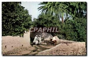 Old Postcard Scenes Algeria and types- BCU Saada