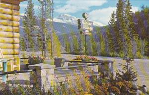 Canada Alpine Village Jasper National Park Alberta