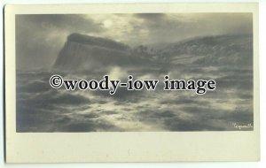 ar0331 - Rough Seas around Teignmouth Coast - Artist - Elmer Keene - postcard