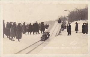 RP: Toboggan , River Park , Winnipeg , Mantoba , Canada , 1910-20s