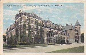 National House And Gymnasium, Elgin National Watch Co., ELGIN, Illinois, 1910...