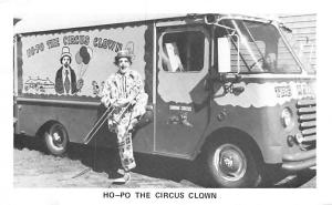 Circus Clowns Acts Old Vintage Post Cards Ho Po The Circus Clown Unused