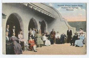 MOORISH ALCOVE, DAKOTA HOTEL, HUNTERS HOT SPRINGS, MONTANA