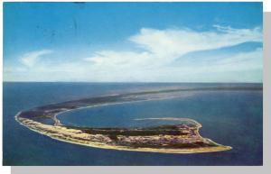 Brewster/Harwich, Mass/MA Postcard, Air View Of Cape Cod