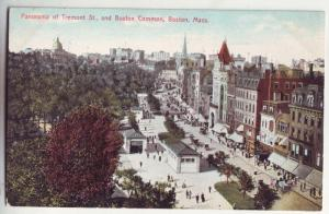 P230 JL 1907-15 boston mass postcard panorama view tremont