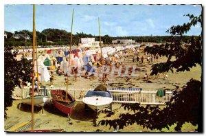 Old Postcard Saint Georges de Didonne The Beach