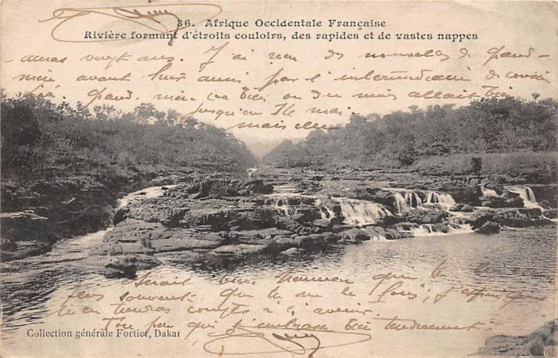 Afrique Occidentale Francaise: Senegal Dakar, Riviere 1917