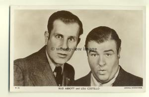 b1248 - Film Actors - Bud Abbot & Lou Costello - postcard Picturegoer W698