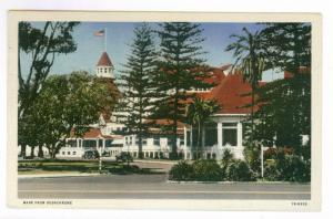 San Diego, California to Kansas City, Missouri 1945 PPC, Hotel Del Coronado