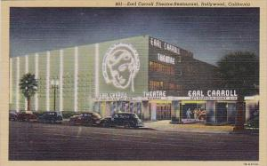 Earl Carroll Theatre Restanrant Hollywood California
