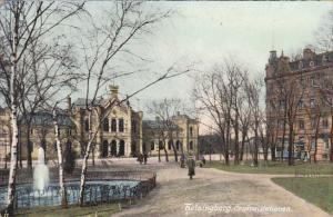 Sweden Helsingbord Centralstationen 1906