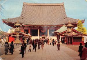 Japan Main Hall Interior Temple