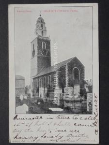 Ireland CORK Shandon Church c1905 by Emerald (PM) Queen Victoria 1/2d Stamp