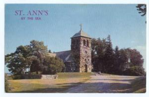 St. Ann's By the Sea, Kennebunkport, Maine, ME,  Chrome