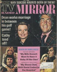TV Radio MIRROR Vintage June 1973 Magazine Dean Martin, Burt Reynolds