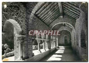 Postcard Modern Rousillon The Abbey of Saint Martin of Canigou Le Cloitre