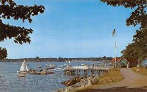 Salem Willows Park Massachusetts Postcard