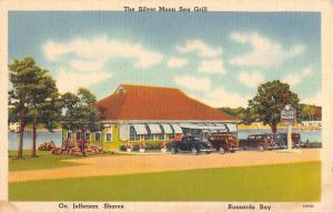 Buzzards Bay Massachusetts Silver Moon Sea Grill Antique Postcard K90152