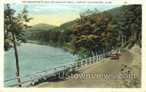 Deerfield River Mohawk Trail MA 1924