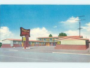 Unused Linen FLAGSTONE MOTEL Port Angeles Washington WA M5761