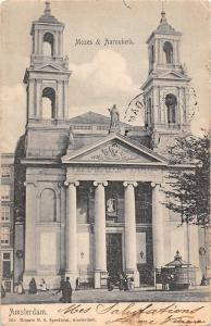 Netherlands Amsterdam, Mozes & Aaronkerk Church 1903