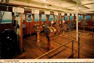 Queen Mary Navigation Bridge 1978