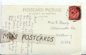 Genealogy Postcard - Sharp - Warminster Road - Westbury - Wiltshire - Ref 8210A