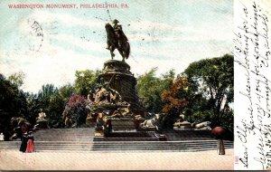 Pennsylvania Philadelphia Washington Monument 1906